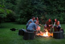 how to build a fire pit, how to make a fire pit, how to build an outdoor fireplace