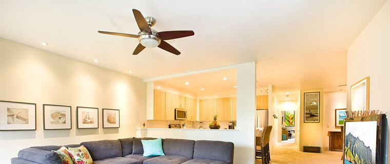 which outdoor ceiling fans are the quietest