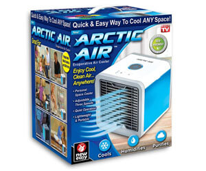 ontel arctic personal air cooler, smallest air conditioner on the market, mini ac